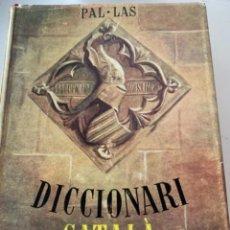 Diccionarios antiguos: DICCIONARI CATALÀ IL•LUSTRAT (CAJ 3). Lote 230546320