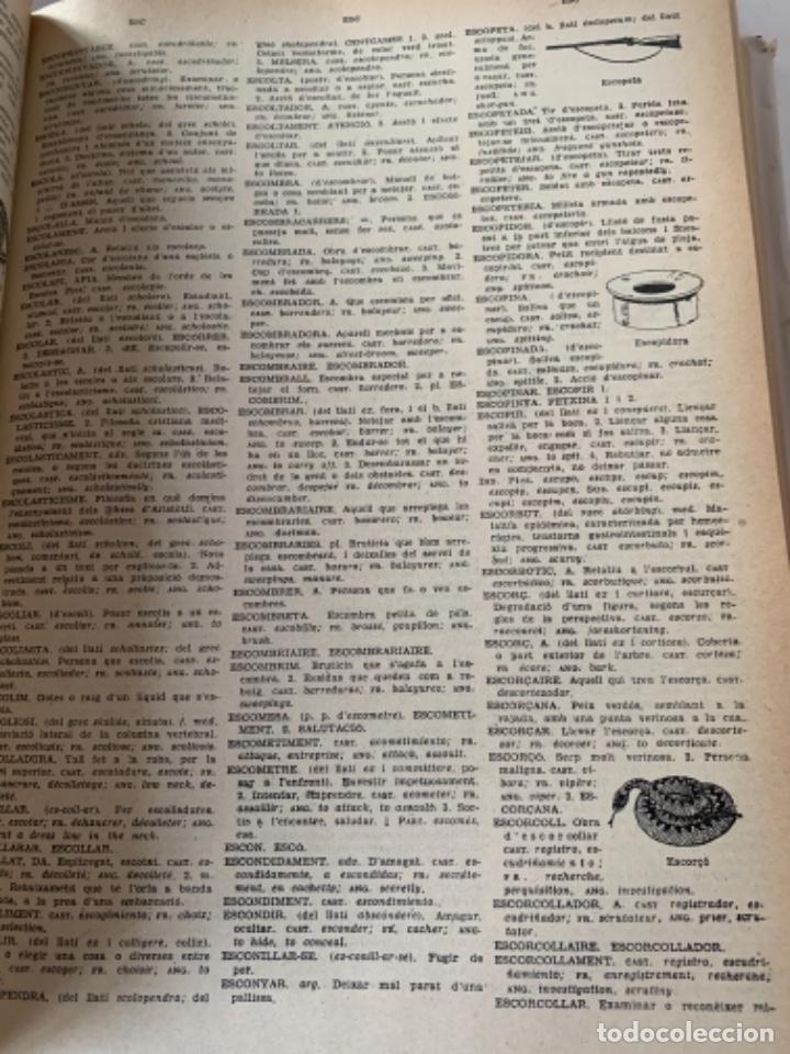 Diccionarios antiguos: Diccionari Català Il•lustrat (CAJ 3) - Foto 3 - 230546320