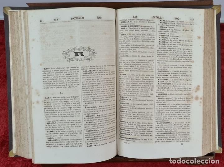 Diccionarios antiguos: DICCIONARI DE LA LLENGUA CATALANA. PERE LABERNIA. ESPASA HERMANOS. 2 VOL. 1864. - Foto 5 - 230684625