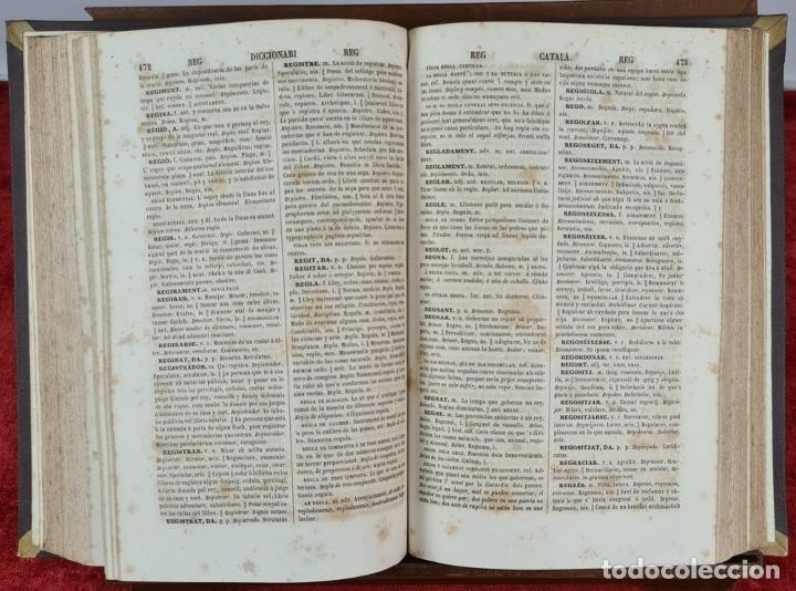 Diccionarios antiguos: DICCIONARI DE LA LLENGUA CATALANA. PERE LABERNIA. ESPASA HERMANOS. 2 VOL. 1864. - Foto 9 - 230684625