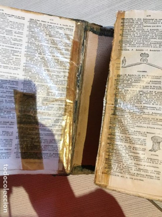 Diccionarios antiguos: Antiguo diccionario enciclopèdico manual de 5 idiomas Pal·las año 1926 - Foto 5 - 233450430