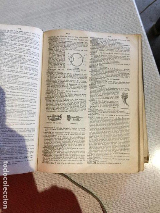 Diccionarios antiguos: Antiguo diccionario enciclopèdico manual de 5 idiomas Pal·las año 1926 - Foto 7 - 233450430