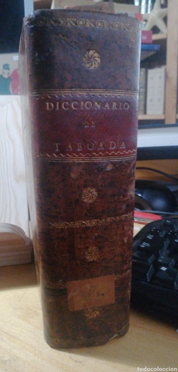 Diccionarios antiguos: Nuevo Diccionario Español-Francés.Núñez y Taboada. 1820. Imprenta de Sancha Pasta española - Foto 2 - 234514060