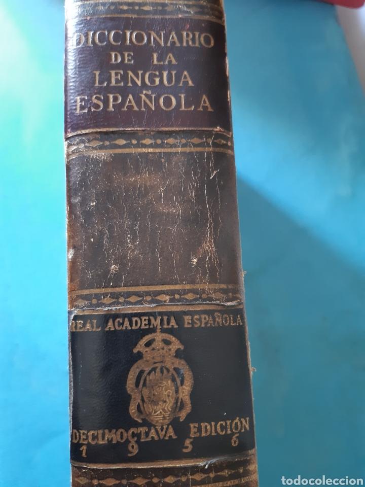 Diccionarios antiguos: ANTIGUO DICCIONARIO DE LA DE LA LENGUA 1956 - Foto 2 - 235523575
