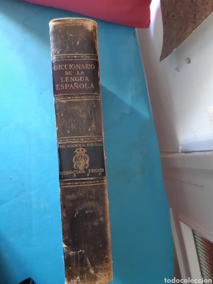 Diccionarios antiguos: ANTIGUO DICCIONARIO DE LA DE LA LENGUA 1956 - Foto 3 - 235523575