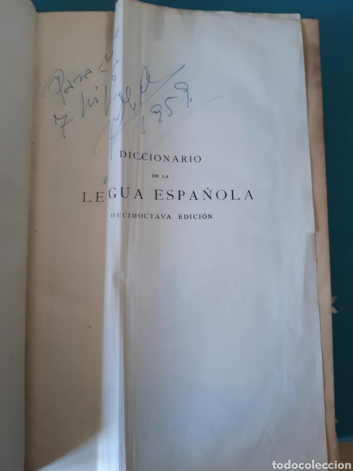 Diccionarios antiguos: ANTIGUO DICCIONARIO DE LA DE LA LENGUA 1956 - Foto 7 - 235523575