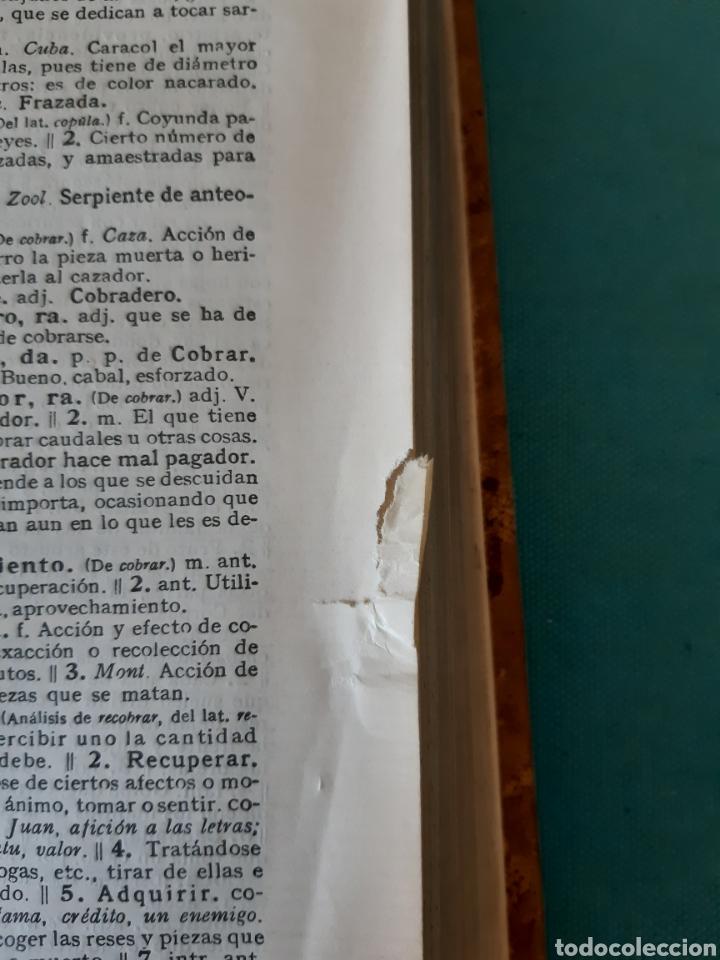 Diccionarios antiguos: ANTIGUO DICCIONARIO DE LA DE LA LENGUA 1956 - Foto 9 - 235523575