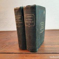 Diccionarios antiguos: DICCIONARIO INGLES-ESPAÑOL, COMPLETO 2 TOMOS - F.C. BUSTAMANTE - CASA EDITORIAL GARNIER HMNOS, PARIS. Lote 235957560
