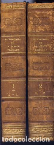 Diccionarios antiguos: RAYMOND. Dictionnaire Général de la Langue Française et Vocabulaire Universel des Sciences... 1843 - Foto 5 - 236627310