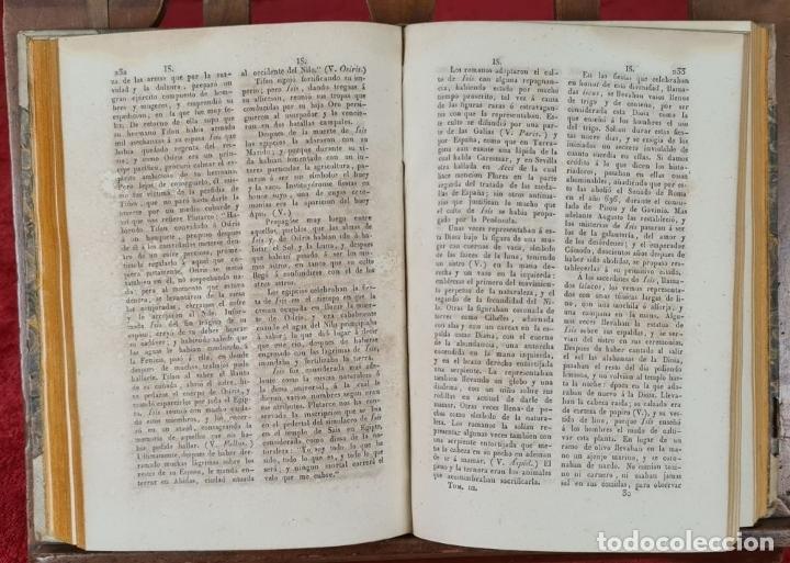 Diccionarios antiguos: DICCIONARIO HISTORICO ENCICLOPÉDICO. JOAQUIN BASTÚS. IMP. A. ROCA. 3 TOMOS. 1829. - Foto 7 - 240813840