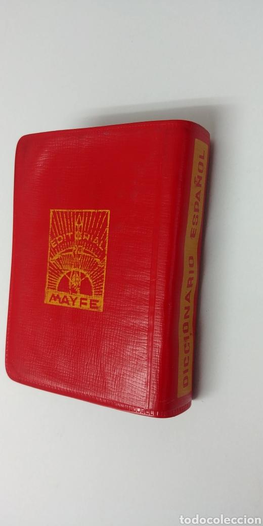 Diccionarios antiguos: Rarisimo Mini diccionario español SOL año 1862. Ediciones Mayfe - Foto 3 - 241058305
