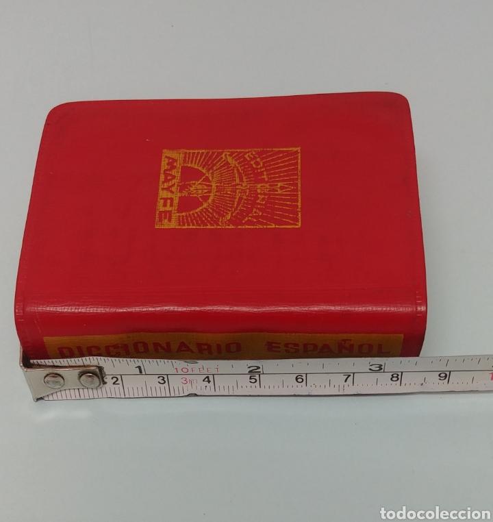 Diccionarios antiguos: Rarisimo Mini diccionario español SOL año 1862. Ediciones Mayfe - Foto 5 - 241058305