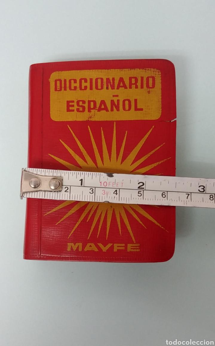 Diccionarios antiguos: Rarisimo Mini diccionario español SOL año 1862. Ediciones Mayfe - Foto 6 - 241058305