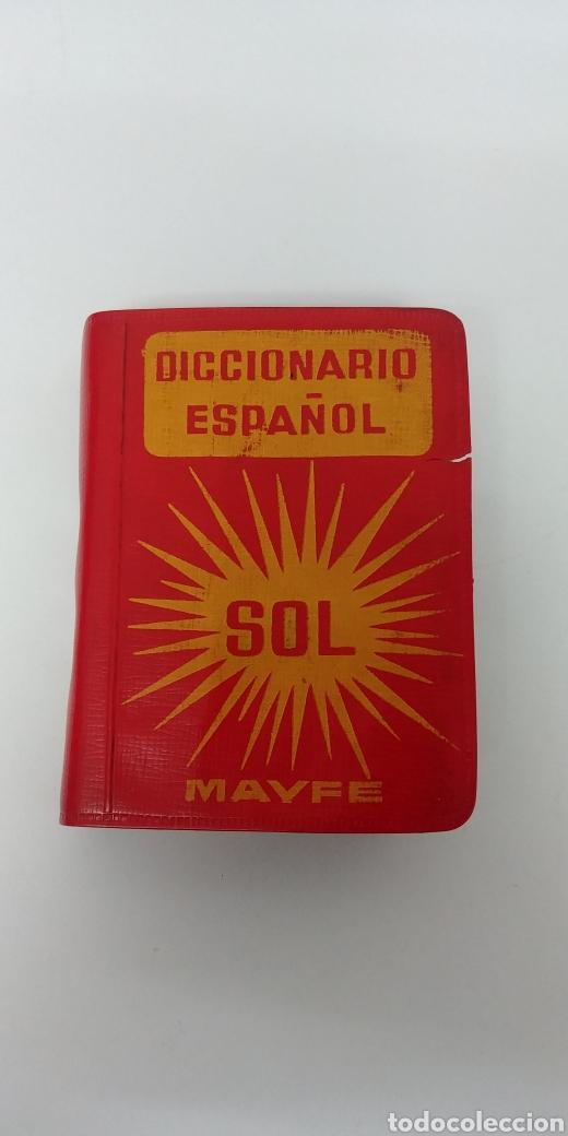 RARISIMO MINI DICCIONARIO ESPAÑOL SOL AÑO 1862. EDICIONES MAYFE (Libros Antiguos, Raros y Curiosos - Diccionarios)