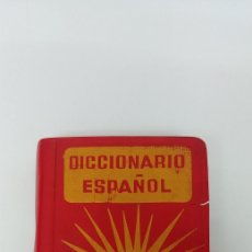 Diccionarios antiguos: RARISIMO MINI DICCIONARIO ESPAÑOL SOL AÑO 1862. EDICIONES MAYFE. Lote 241058305