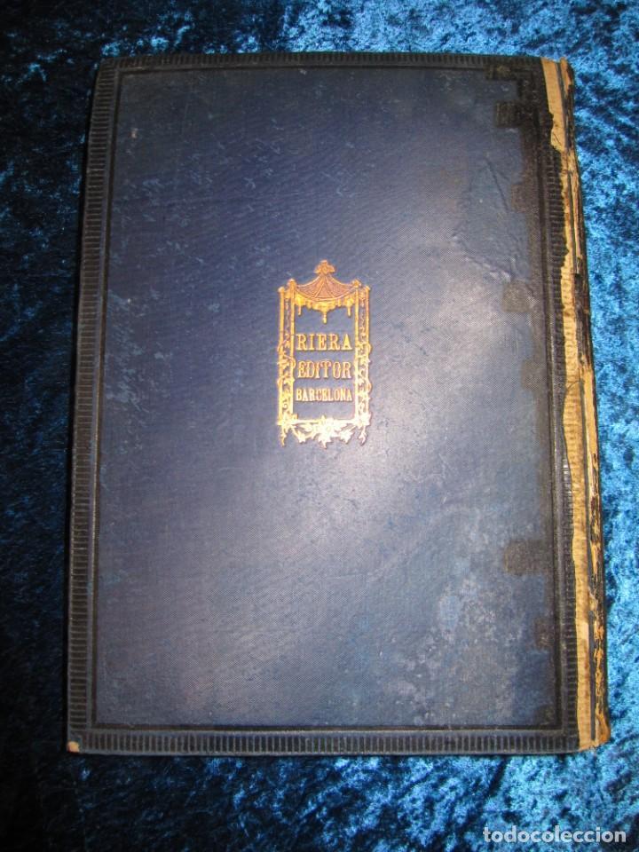 Diccionarios antiguos: Diccionario geográfico España Ultramar X 1886 Riera mapa Soria, Tarragona, Teruel, Toledo, Valencia - Foto 4 - 207745366