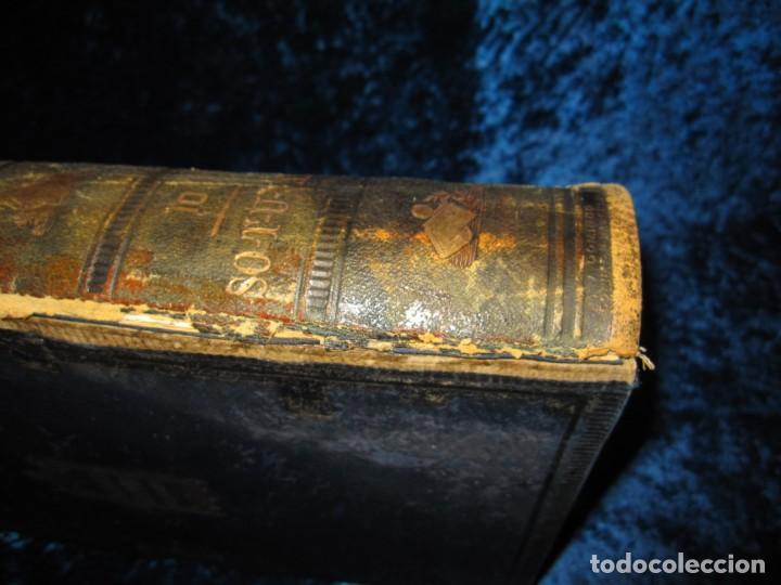 Diccionarios antiguos: Diccionario geográfico España Ultramar X 1886 Riera mapa Soria, Tarragona, Teruel, Toledo, Valencia - Foto 15 - 207745366