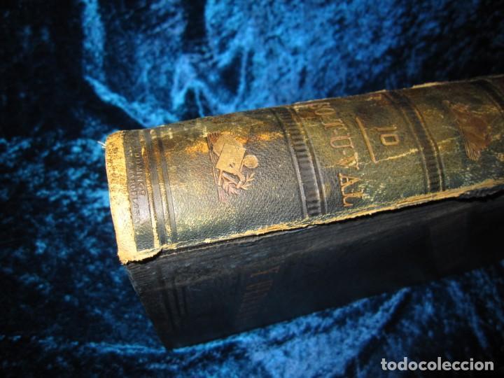 Diccionarios antiguos: Diccionario geográfico España Ultramar X 1886 Riera mapa Soria, Tarragona, Teruel, Toledo, Valencia - Foto 20 - 207745366