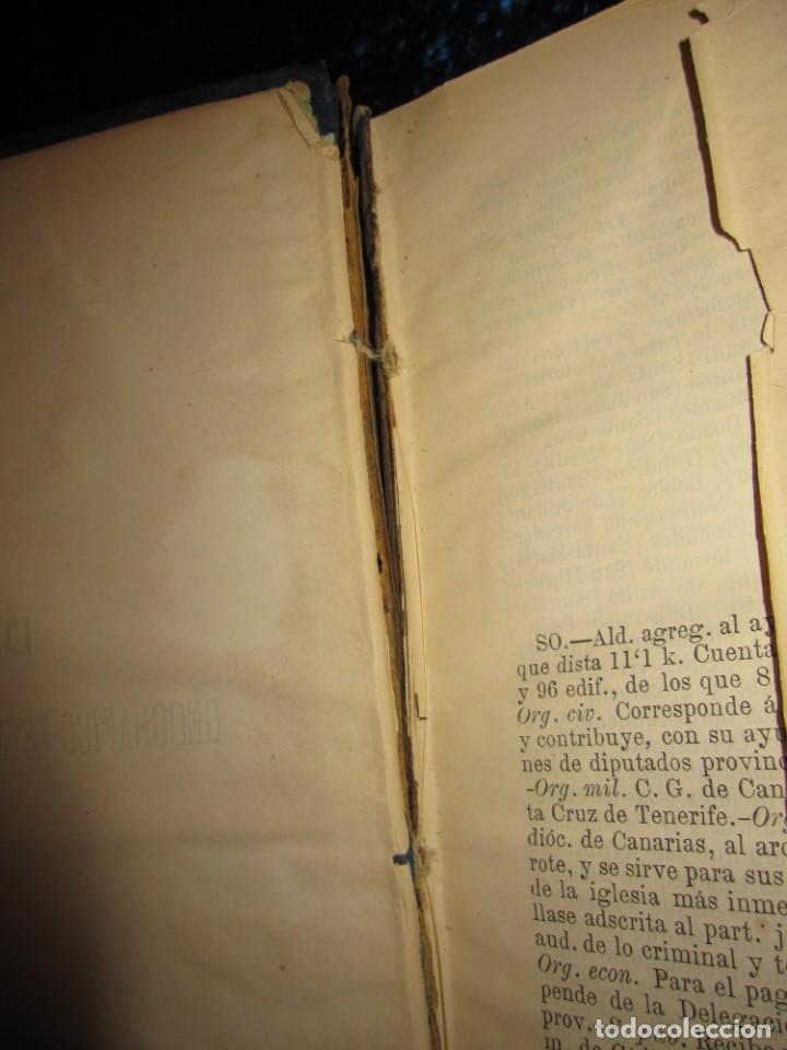 Diccionarios antiguos: Diccionario geográfico España Ultramar X 1886 Riera mapa Soria, Tarragona, Teruel, Toledo, Valencia - Foto 34 - 207745366