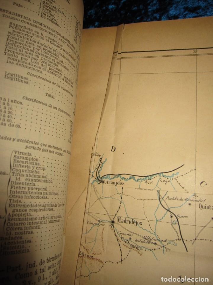 Diccionarios antiguos: Diccionario geográfico España Ultramar X 1886 Riera mapa Soria, Tarragona, Teruel, Toledo, Valencia - Foto 40 - 207745366