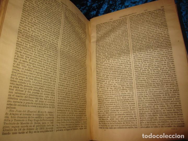 Diccionarios antiguos: Diccionario geográfico España Ultramar X 1886 Riera mapa Soria, Tarragona, Teruel, Toledo, Valencia - Foto 44 - 207745366