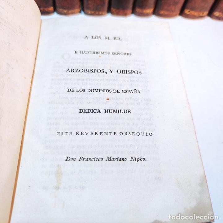 Diccionarios antiguos: Diccionario apostólico. Fr. Jacinto Montargon. 15 tomos. Imp. de Don Benito Cano. Madrid. 1745. - Foto 11 - 241781195