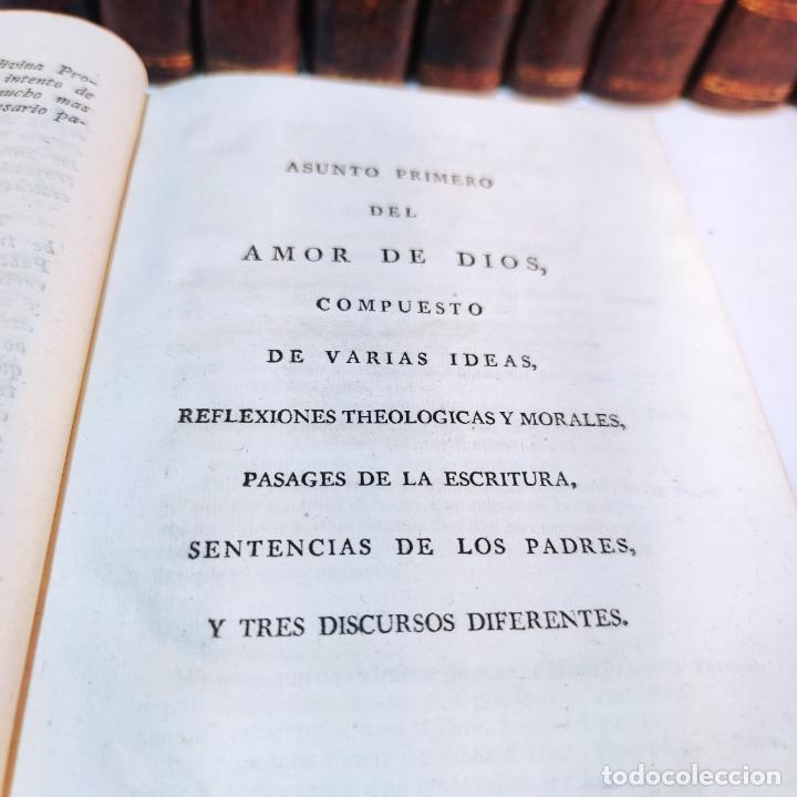 Diccionarios antiguos: Diccionario apostólico. Fr. Jacinto Montargon. 15 tomos. Imp. de Don Benito Cano. Madrid. 1745. - Foto 12 - 241781195
