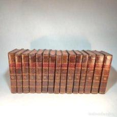 Diccionarios antiguos: DICCIONARIO APOSTÓLICO. FR. JACINTO MONTARGON. 15 TOMOS. IMP. DE DON BENITO CANO. MADRID. 1745.. Lote 241781195