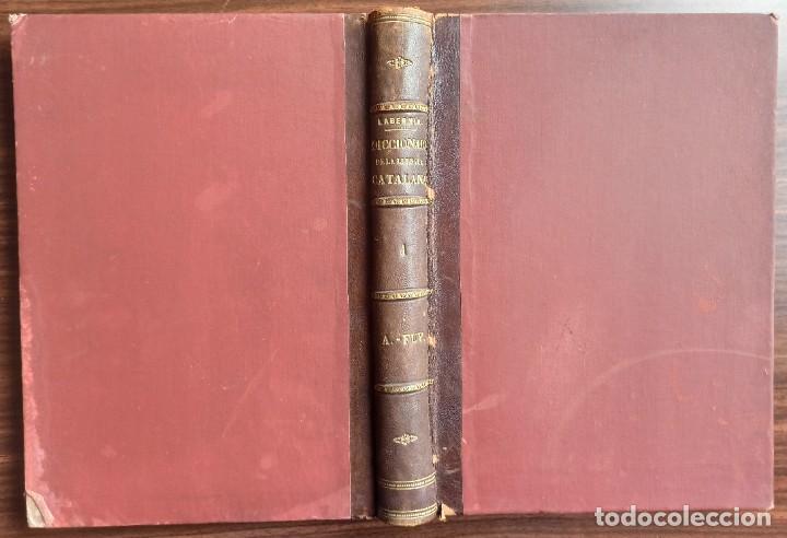 Diccionarios antiguos: DICCIONARI DE LA LENGUA CATALANA AB LA CORRESPONDENCIA CASTELLANA. D. PERE LABERNIA Y ESTELLER. - Foto 6 - 242884300