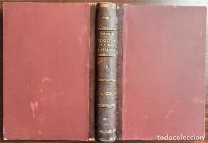 Diccionarios antiguos: DICCIONARI DE LA LENGUA CATALANA AB LA CORRESPONDENCIA CASTELLANA. D. PERE LABERNIA Y ESTELLER. - Foto 10 - 242884300