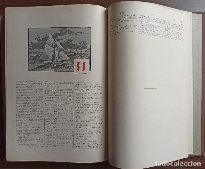 Diccionarios antiguos: DICCIONARI DE LA LENGUA CATALANA AB LA CORRESPONDENCIA CASTELLANA. D. PERE LABERNIA Y ESTELLER. - Foto 15 - 242884300