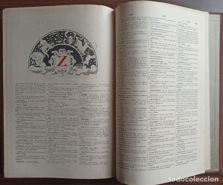 Diccionarios antiguos: DICCIONARI DE LA LENGUA CATALANA AB LA CORRESPONDENCIA CASTELLANA. D. PERE LABERNIA Y ESTELLER. - Foto 16 - 242884300