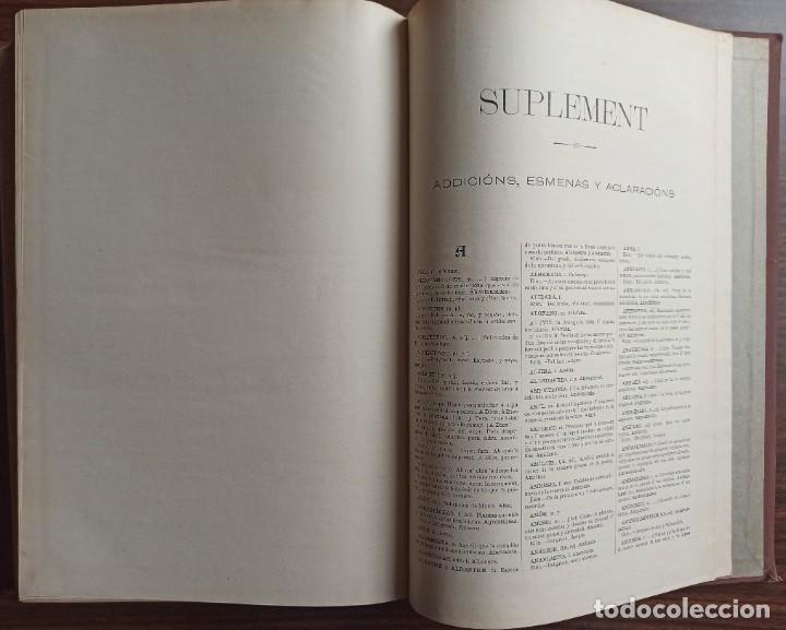 Diccionarios antiguos: DICCIONARI DE LA LENGUA CATALANA AB LA CORRESPONDENCIA CASTELLANA. D. PERE LABERNIA Y ESTELLER. - Foto 17 - 242884300