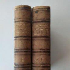 Diccionarios antiguos: DICCIONARIO ESPAÑOL-ALEMÁN, ALEMÁN-ESPAÑOL, DE C. F. FRANCESON (2 TOMOS, 1862). Lote 244484405