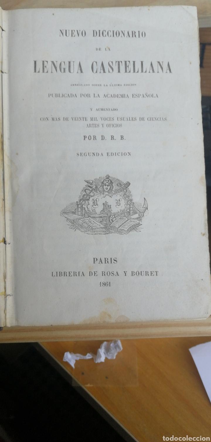 NUEVO DICCIONARIO LENGUA CASTELLANA. ( ROQUE BARCIA ), COMPRENDE LA ULTIMA EDICION DEL DE LA ACADEMI (Libros Antiguos, Raros y Curiosos - Diccionarios)