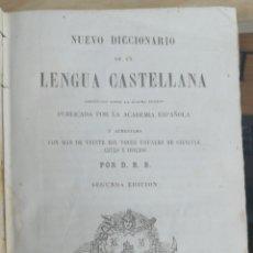 Diccionarios antiguos: NUEVO DICCIONARIO LENGUA CASTELLANA. ( ROQUE BARCIA ), COMPRENDE LA ULTIMA EDICION DEL DE LA ACADEMI. Lote 244664780