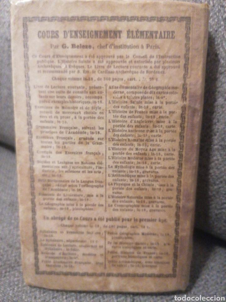 Diccionarios antiguos: Petit Dictionnaire française. G. Beleze. Imp. Jules Delalain. Paris, 1857. Cinquième éd. - Foto 4 - 244968665