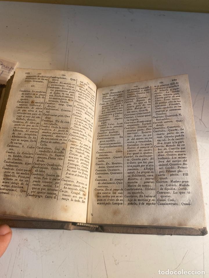 Diccionarios antiguos: Diccionario manual o vocabulario completo de la lengua castellana catalana - Foto 4 - 247375470