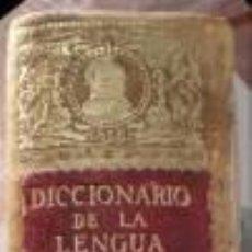 Diccionarios antiguos: DICCIONARIO DE LA LENGUA ESPAÑOLA. REAL ACADEMIA ESPAÑOLA. DÉCIMA QUINTA ED. 1925. Lote 247377520