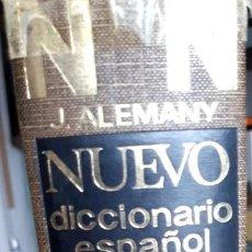 Diccionarios antiguos: DICCIONARIO ESPAÑOL ILUSTRADO DE LA LENGUA ESPAÑOLA. RAMÓN SOPENA. JOSÉ ALEMANY.. Lote 247409555