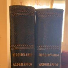 Diccionarios antiguos: DICCIONARIO GEOGRÁFICO UNIVERSAL PINTORESCO DE LOS CINCO PARTES DEL MUNDO. Lote 248423225