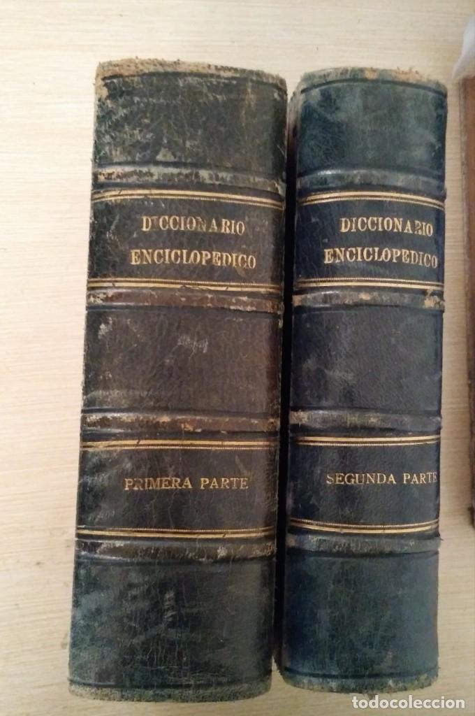 Diccionarios antiguos: DICCIONARIO ENCICLOPÉDICO ILUSTRADO DE LA LENGUA ESPAÑOLA 1927 Ramón Sopena - Foto 2 - 249257590