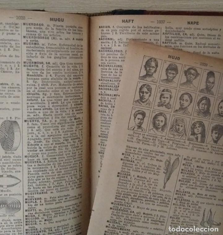 Diccionarios antiguos: DICCIONARIO ENCICLOPÉDICO ILUSTRADO DE LA LENGUA ESPAÑOLA 1927 Ramón Sopena - Foto 10 - 249257590