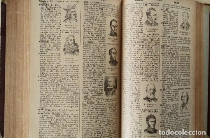 Diccionarios antiguos: DICCIONARIO ENCICLOPÉDICO ILUSTRADO DE LA LENGUA ESPAÑOLA 1927 Ramón Sopena - Foto 11 - 249257590