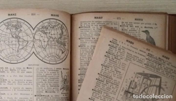 Diccionarios antiguos: DICCIONARIO ENCICLOPÉDICO ILUSTRADO DE LA LENGUA ESPAÑOLA 1927 Ramón Sopena - Foto 14 - 249257590