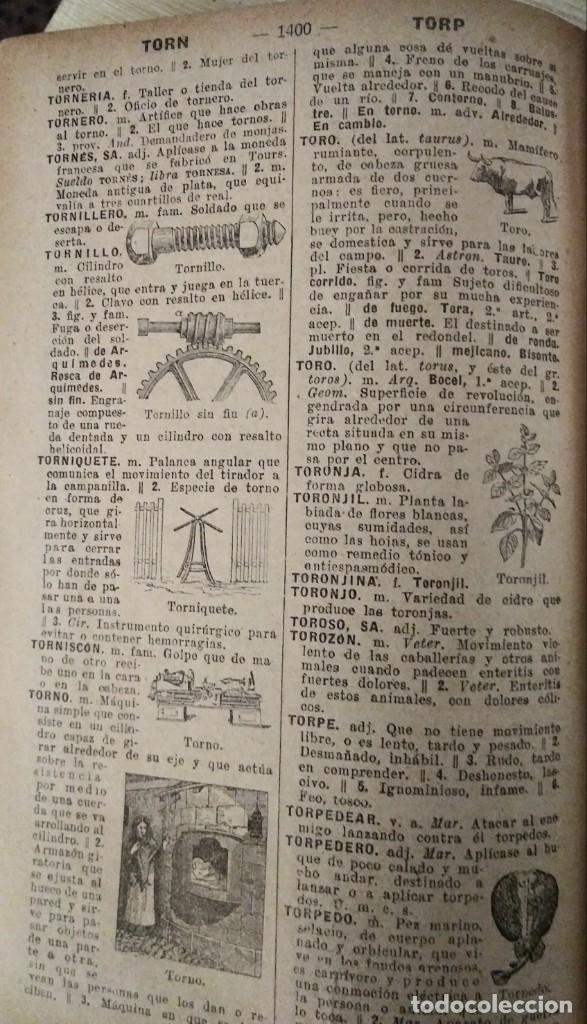 Diccionarios antiguos: DICCIONARIO ENCICLOPÉDICO ILUSTRADO DE LA LENGUA ESPAÑOLA 1927 Ramón Sopena - Foto 19 - 249257590