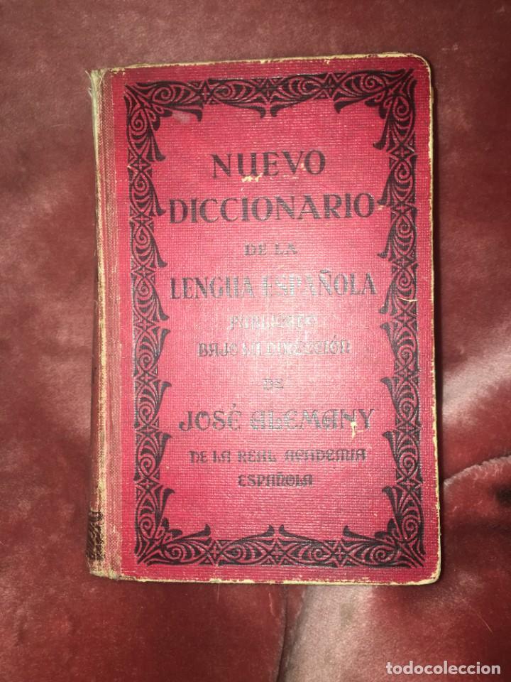 NUEVO DICCIONARIO DE LA LENGUA ESPAÑOLA, J. ALEMANY EDIT.R. SOPENA 1948 (Libros Antiguos, Raros y Curiosos - Diccionarios)