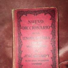 Diccionarios antiguos: NUEVO DICCIONARIO DE LA LENGUA ESPAÑOLA, J. ALEMANY EDIT.R. SOPENA 1948. Lote 249479240