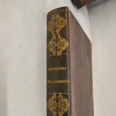 Libri antichi: NOVÍSIMO DICCIONARIO MANUAL DE LENGUA CASTELLANA. 1846. Lote 251140725