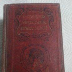 Diccionarios antiguos: ANTIGUO DICCIONARIO 1876 FRANCÉS ESPAÑOL Y ESPAÑOL FRANCÉS POR JULIO CASARES. Lote 252225170